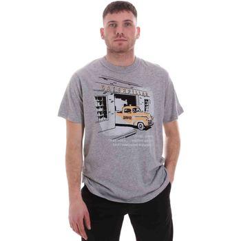 Textiel Heren T-shirts korte mouwen Caterpillar 35CC2510217 Grijs