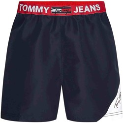 Textiel Heren Zwembroeken/ Zwemshorts Tommy Hilfiger UM0UM02067 Blauw