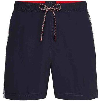 Textiel Heren Zwembroeken/ Zwemshorts Tommy Hilfiger UM0UM02042 Blauw
