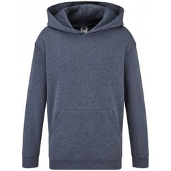 Textiel Kinderen Sweaters / Sweatshirts Fruit Of The Loom SS14B Heather Marine