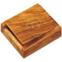 Wonen Manden en dozen Signes Grimalt Box Speelkaarten Met 2 Barajas Marrón