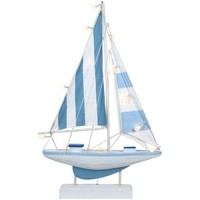 Wonen Beeldjes  Signes Grimalt Zeilboot Met Batterij Led Multicolor