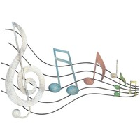 Wonen Schilderijen Signes Grimalt Music Notes Motif Muur Multicolor
