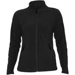 Textiel Dames Jacks / Blazers Gildan PF800L Zwart