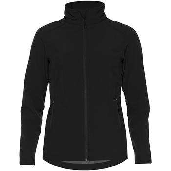 Textiel Dames Jacks / Blazers Gildan GH115 Zwart