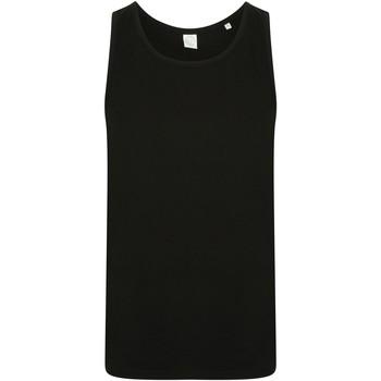 Textiel Heren Mouwloze tops Skinni Fit SF123 Zwart