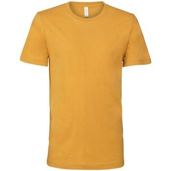 Textiel T-shirts korte mouwen Bella + Canvas CV001 Mosterd Geel