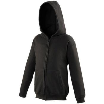 Textiel Kinderen Sweaters / Sweatshirts Awdis JH50J Diep zwart