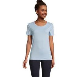 Textiel Dames T-shirts korte mouwen Sols LUCAS WOME Azul claro