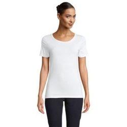 Textiel Dames T-shirts korte mouwen Sols LUCAS WOME Blanco ?ptimo