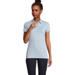 Textiel Dames Polo's korte mouwen Sols OSCAR WOME Azul claro