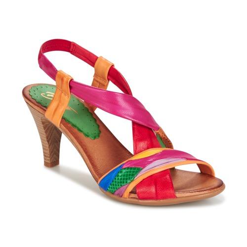 Schoenen Dames Sandalen / Open schoenen Betty London POULOI Multicolour