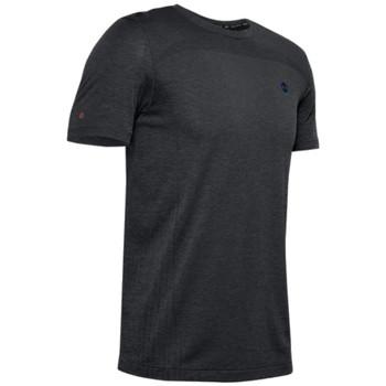 Textiel Heren T-shirts korte mouwen Under Armour Rush Seamless Fitted SS Tee Noir