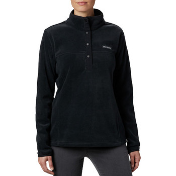 Textiel Dames Fleece Columbia Benton Springs 1/2 Snap Pullover Noir