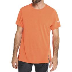 Textiel Heren T-shirts korte mouwen Asics Gel-Cool SS Top Tee Orange