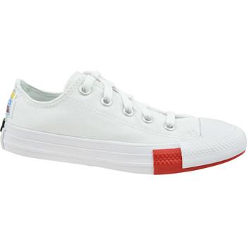Schoenen Kinderen Lage sneakers Converse Chuck Taylor All Star Jr Blanc