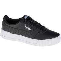 Schoenen Dames Lage sneakers Puma Carina L Noir