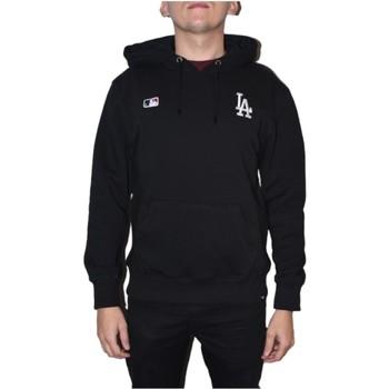 Textiel Heren Sweaters / Sweatshirts 47 Brand MLB Los Angeles Dodgers Hoodie Noir