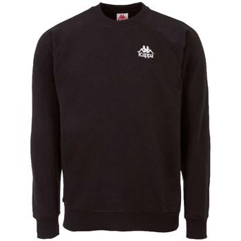 Textiel Heren Sweaters / Sweatshirts Kappa Taule Sweatshirt Noir