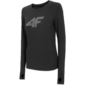 Textiel Dames T-shirts met lange mouwen 4F Women's Functional Longsleeve Noir