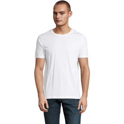 Textiel Heren T-shirts korte mouwen Sols LUCAS MEN Blanco ?ptimo