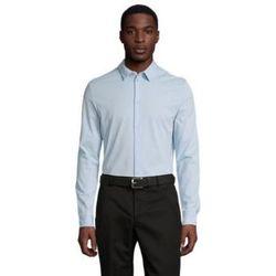 Textiel Heren Overhemden lange mouwen Sols BALTHAZAR MEN Azul claro