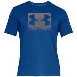 Textiel Heren T-shirts korte mouwen Under Armour Boxed Sportstyle SS Tee Bleu