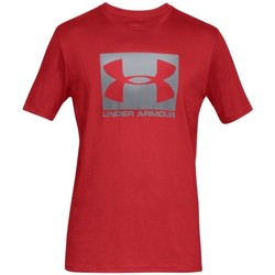 Textiel Heren T-shirts korte mouwen Under Armour Boxed Sportstyle SS Tee Rouge