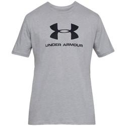 Textiel Heren T-shirts korte mouwen Under Armour Sportstyle Logo Tee Grise