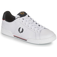 Schoenen Heren Lage sneakers Fred Perry B722 Wit