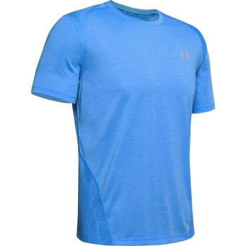 Textiel Heren T-shirts korte mouwen Under Armour Streaker 2.0 Blauw