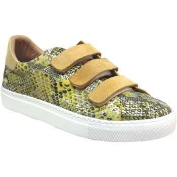 Schoenen Dames Lage sneakers K.mary Clany Geel