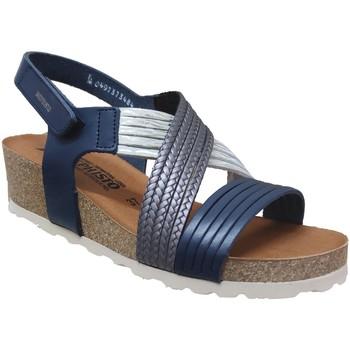 Schoenen Dames Sandalen / Open schoenen Mephisto Renza Blauw leer