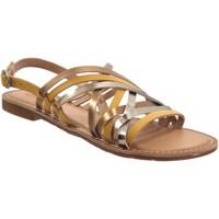 Schoenen Dames Sandalen / Open schoenen Kickers Etrusk Geel leer