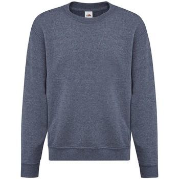 Textiel Meisjes Sweaters / Sweatshirts Fruit Of The Loom SS9B Heather Marine