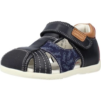 Schoenen Jongens Sandalen / Open schoenen Garvalin 212602 Blauw