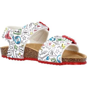 Schoenen Jongens Sandalen / Open schoenen Garvalin 212661 Wit