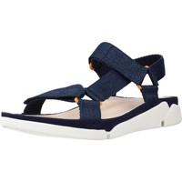 Schoenen Dames Sandalen / Open schoenen Clarks TRI SPORTY TEXTILE Blauw