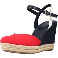 Schoenen Dames Sandalen / Open schoenen Tommy Hilfiger BASIC CLOSED TOE HIGH WE Rood