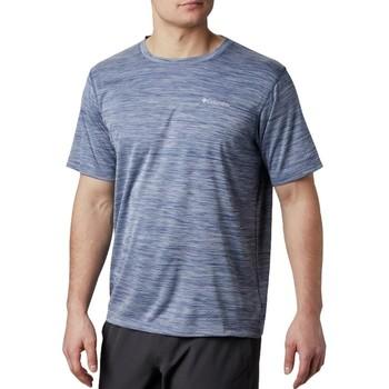Textiel Heren T-shirts korte mouwen Columbia Zero Rules Short Sleeve Shirt Bleu