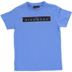 Textiel Jongens T-shirts korte mouwen Richmond Kids RBP21030TS Light blue