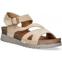 Schoenen Dames Sandalen / Open schoenen Etika 52655 Bruin