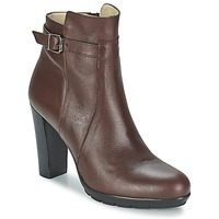 Schoenen Dames Enkellaarzen Betty London ARIZONA Bruin