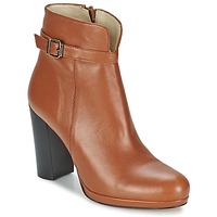 Schoenen Dames Enkellaarzen Betty London GRAZI Camel