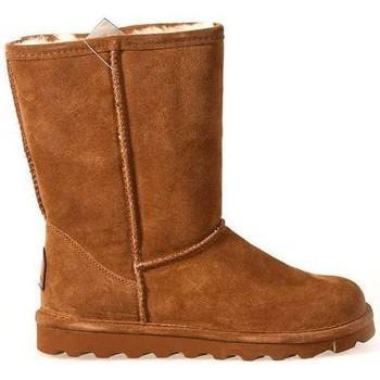 Schoenen Dames Low boots Bearpaw ELLESHORT CHARCOAL Cognac/Camel
