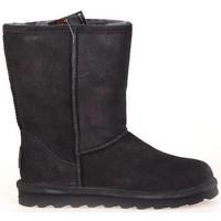 Schoenen Dames Low boots Bearpaw ELLESHORT CHARCOAL Grijs/Antraciet/zilver