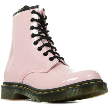 Schoenen Dames Laarzen Dr Martens 1460 Wn's Roze