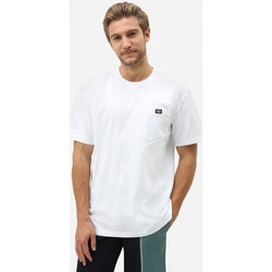 Textiel Heren T-shirts korte mouwen Dickies Porterdale tshirt mens Wit