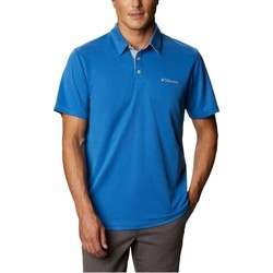 Textiel Heren Polo's korte mouwen Columbia Nelson Point Polo Bleu