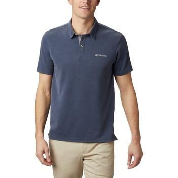 Textiel Heren Polo's korte mouwen Columbia Nelson Point Polo Bleu marine